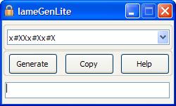 lameGenLite Screenshot
